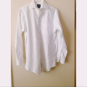Joseph A. Bank white button down shirt